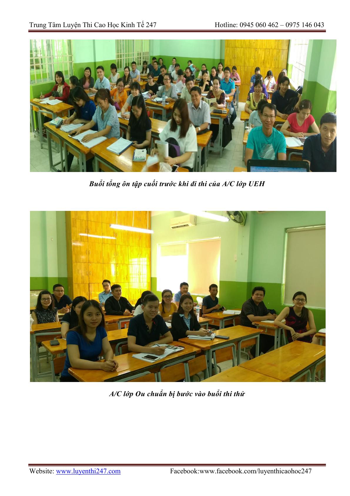 Lịch thi và môn thi tuyển sinh cao học kinh tế của các trường UEL, OU, UEH, UFM, SGU, TĐT…2019