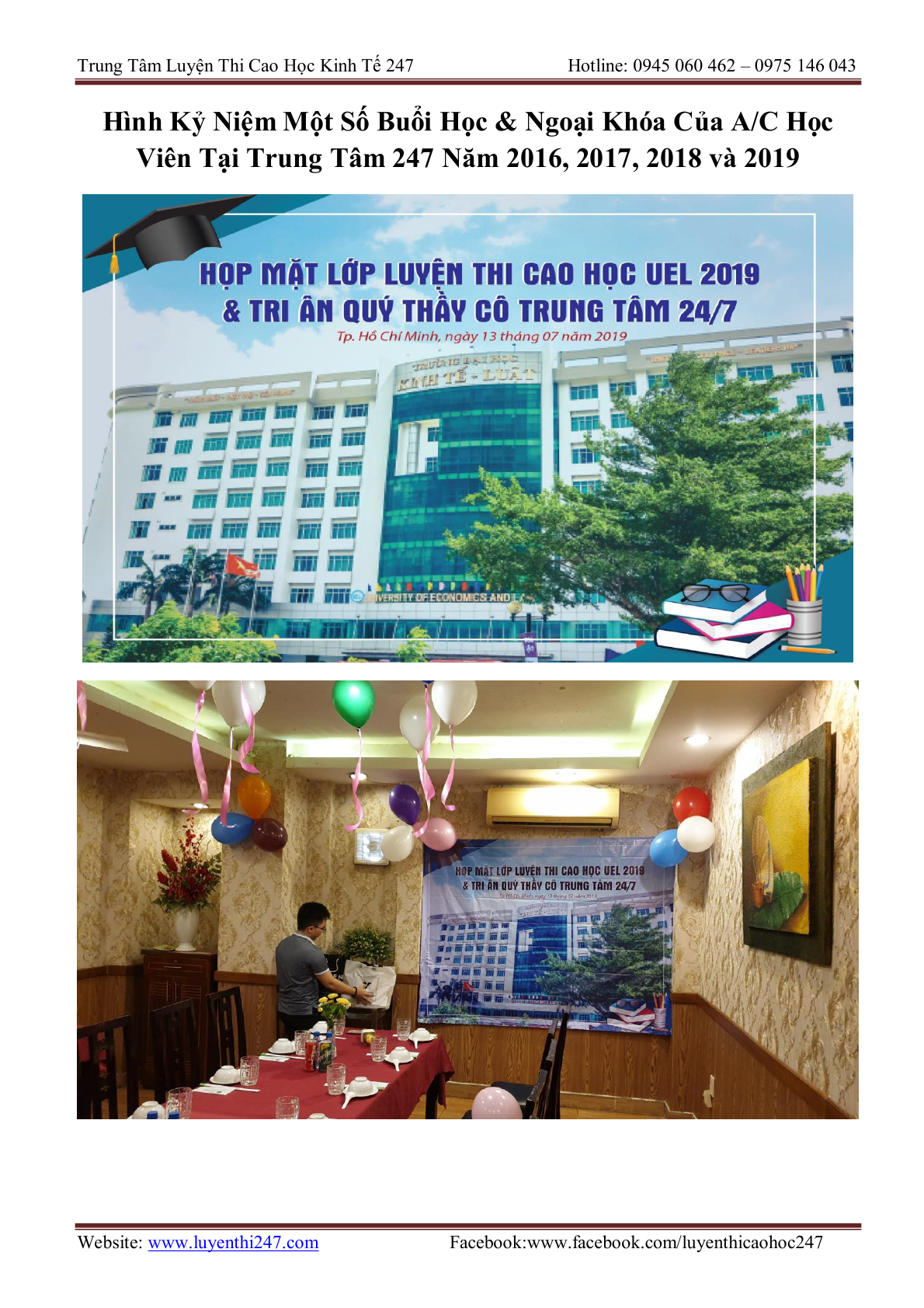 THONG TIN TUYEN SINH CAC TRUONG 202029