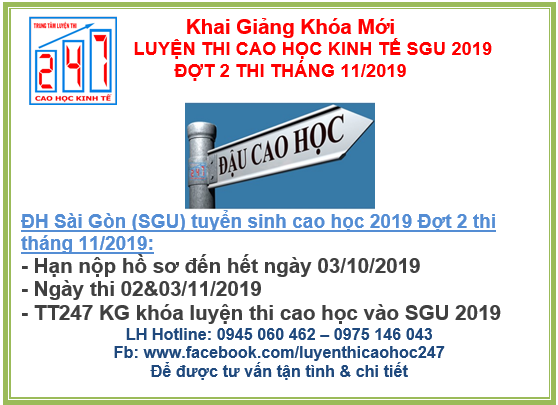luyen thi cao hoc sgu 2019 d2