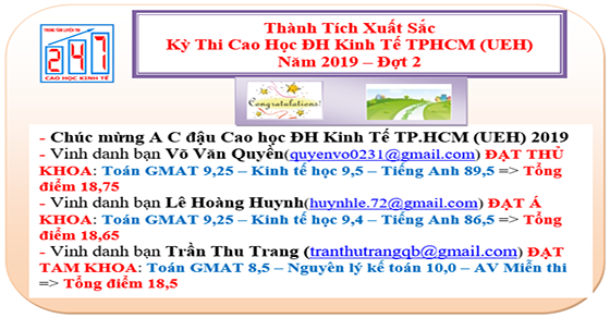 thanh tich luyen thi cao hoc dai hoc kinh te tphcm fb 2019 d2